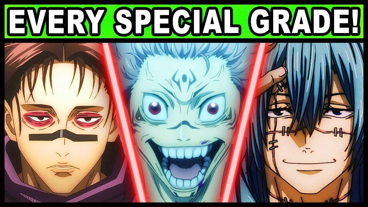 All Special Grade Curses and Their Powers Explained! | Jujustsu Kaisen / JJK Every Special Grade