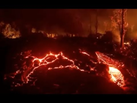 End Of The World 2017 Started In Oregon. North California Next. 3 Sisters Super Volcano Erupted.