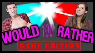 One of Alx James's most viewed videos: Would you rather (DARE EDITION) w/ The Gabbie Show