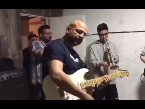 VÍDEO | José García Molina durante el ensayo con Cazafunktasmas