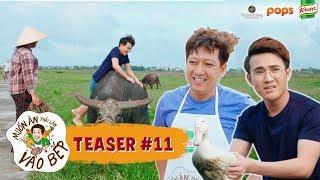 """Teaser #11   Trường Giang đứng hình trước pha """"cưỡi trâu, bắt vịt"""" của Huỳnh Lập   MAPLVB Mùa 2"""