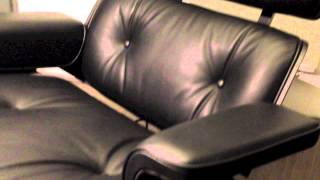 Back to Black Movie Vitra Lounge Chair