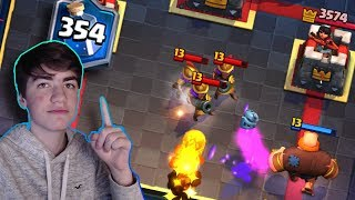 Top 500 Global with Giant Miner in Clash Royale!