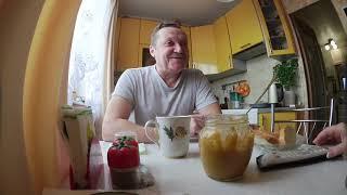 ВЛОГ Завтрак с «Кикиморой» 🤣🤣🤣 / ИкеБанка на столе  🤣👍 17 ноября 2018 г.