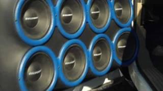 KILLER Car Audio System w/ Gary Killian's Crossfire SPL Subwoofer Set-Up / Best Stereos Of SBN 2011