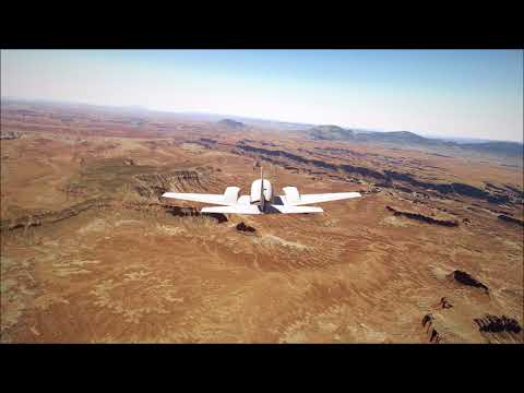 X-Plane 11 Trip from Canyonlands National Park to Vegas