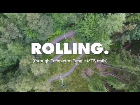Rolling (through Templeton Tangle MTB trails)