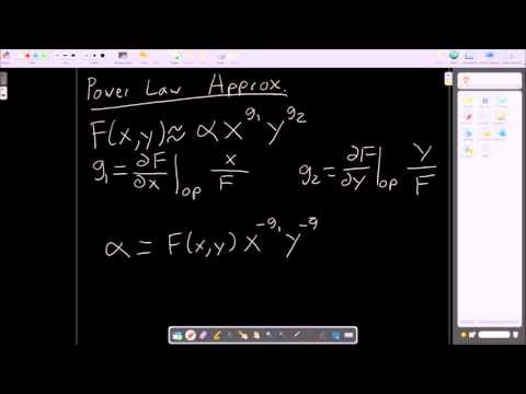 BMED 3520 Power Law Approximation