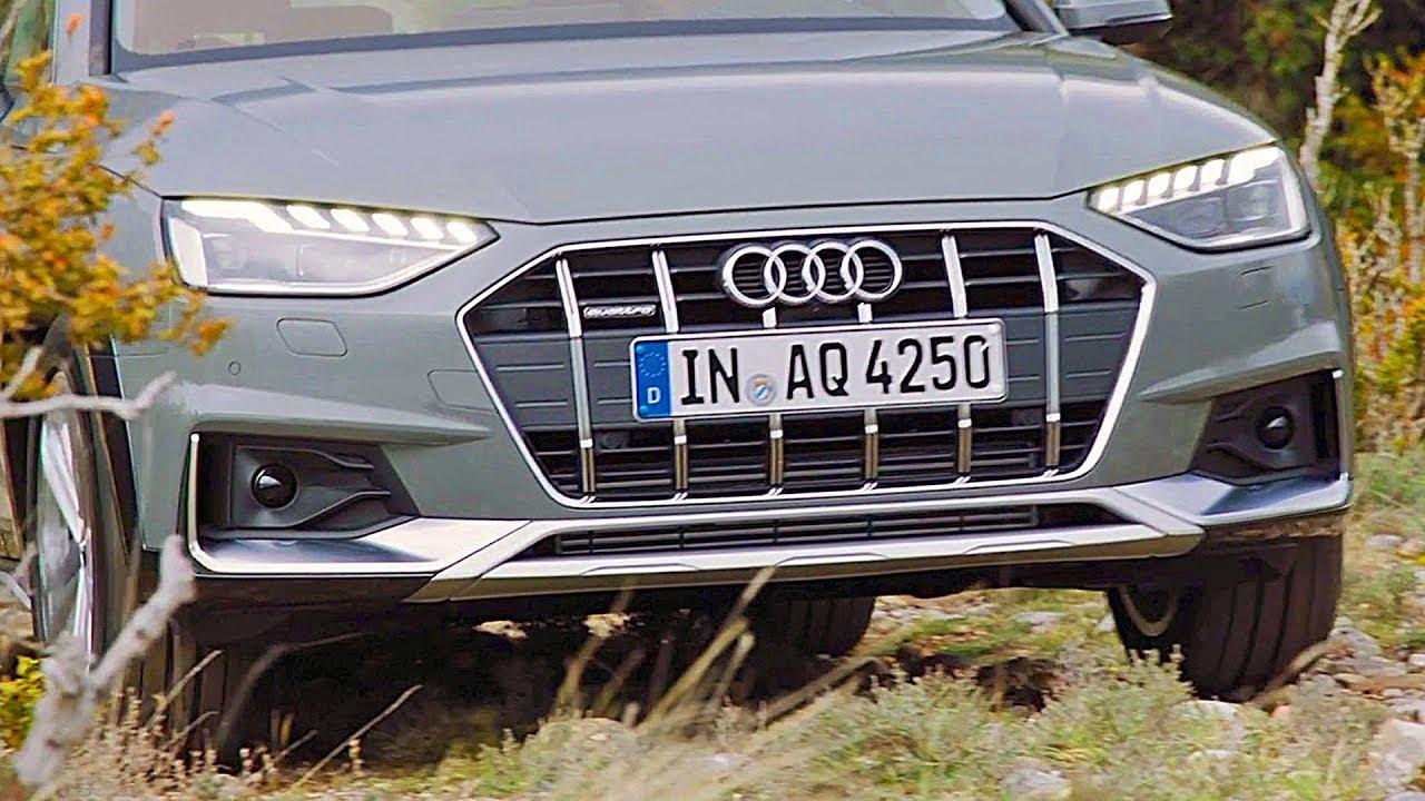 2020 Audi A4 Allroad Design Interior Driving Youtube