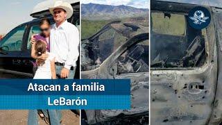 Cinco muertos y varios desaparecidos tras ataque a familia LeBarón