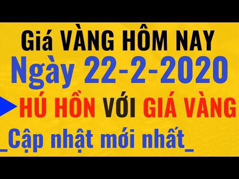 Giá VÀNG Hôm Nay Ngày 22/2/2020 Giá CAO Phá Đỉnh. SJC 9999 24k PNJ DOJI Tỷ Giá USD Ngoại Tệ