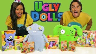 Ugly Dolls Movie Toy Challenge ! || Toy Review || Konas2002