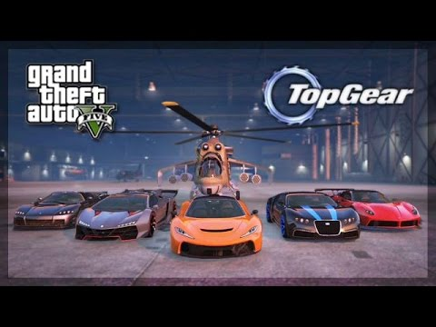 Gta Online Top Gear Edition Hypercars Challenge Youtube