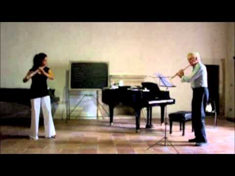 """Ave Maria"" Bach/Gounod, Peter-Lukas Graf & Katrin Zenz, flute"