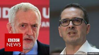 Labour Leadership: Owen Smith vs Jeremy Corbyn - BBC News