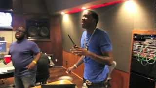 Meek Mill at the Boom Boom Room In L.A (will smith studio) MTV interview