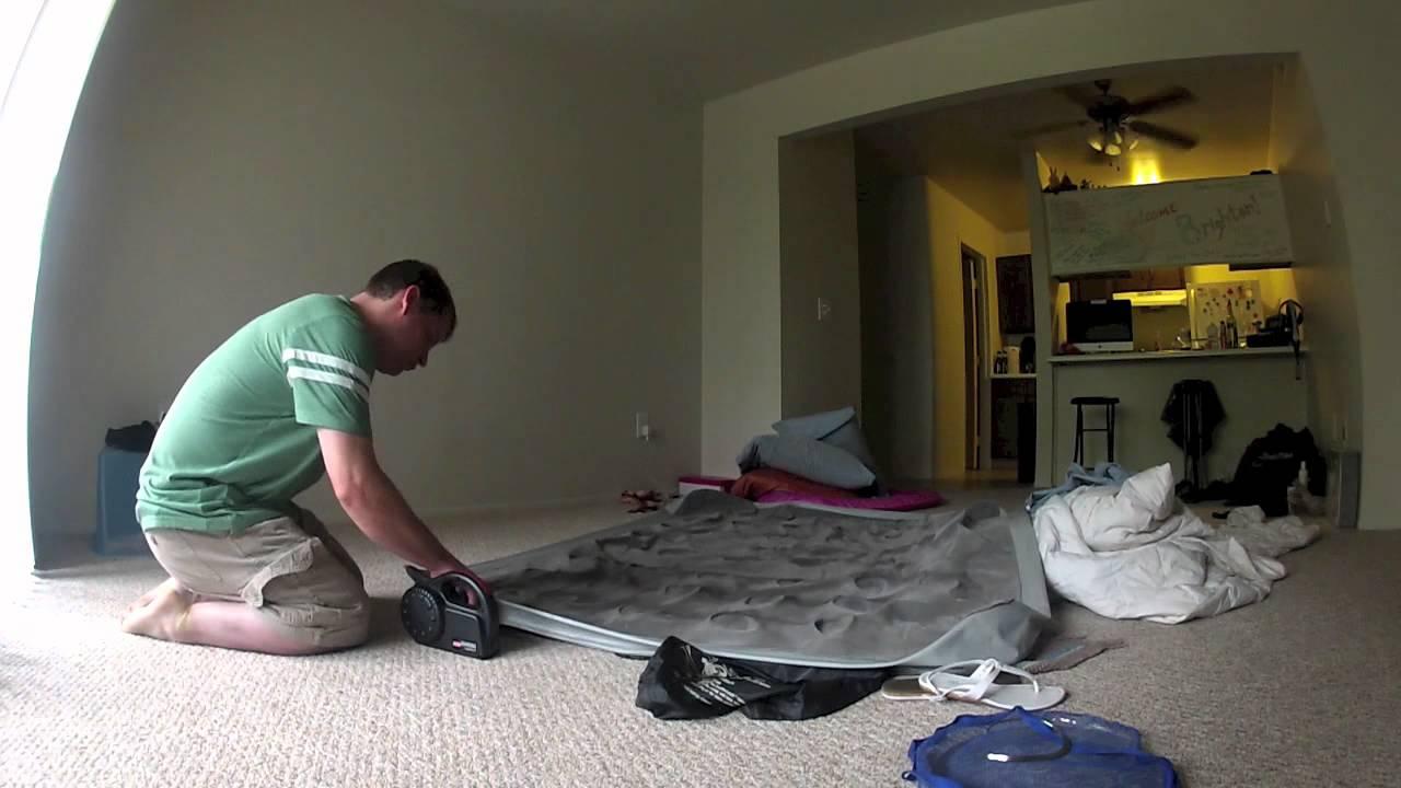 Deflating A Coleman Air Mattress Youtube