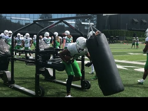 Oregon Ducks football: Sights and sounds from Day 13 of training camp