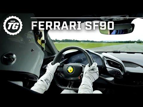 FASTEST TOP GEAR LAP? Ferrari SF90 Stig Lap | Top Gear: Series 29