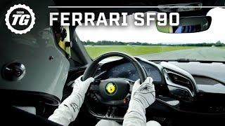 FASTEST TOP GEAR LAP? Ferrari SF90 Stig Lap   Top Gear: Series 29