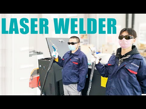 2020 Best 1000W Handheld Fiber Laser Welding Machine From China