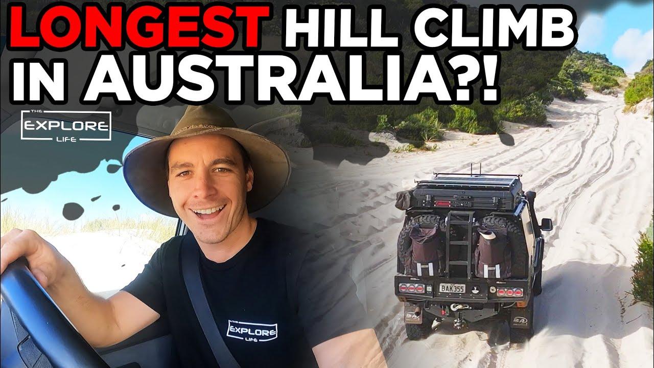 SOLO Exploring BIGGEST Inland Sand Dunes in Australia! The Explore Life