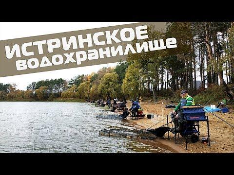 Истринское водохранилище: турнир по ловле на фидер, ТОП-10 НФЛ.