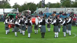 2017 World Pipe Band Championships Boghall & Bathgate