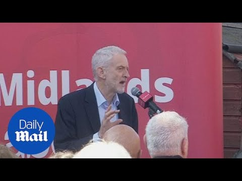 Jeremy Corbyn accuses Labour splitters of backing Tory austerity