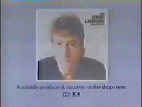 The John Lennon Collection Album advert from the early 80s EMI