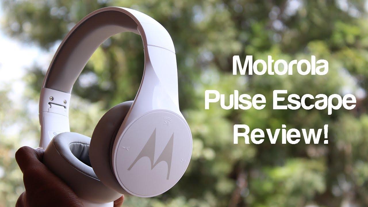 02f4fb6e9eef6d Motorola Pulse Escape Wireless Bluetooth Headphones Unboxing & Review!