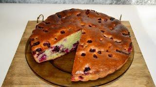 ПИРОГ! БЫСТРЫЙ ПИРОГ НА СМЕТАНЕ! Простой рецепт пирога.