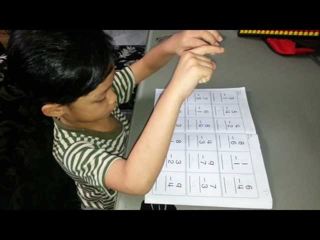 Mental Arithmetic Training for 4 Years Old