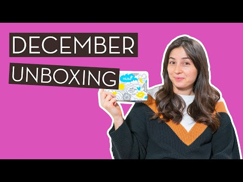 December Unboxing & HUM Giveaway [Closed] | Make…}