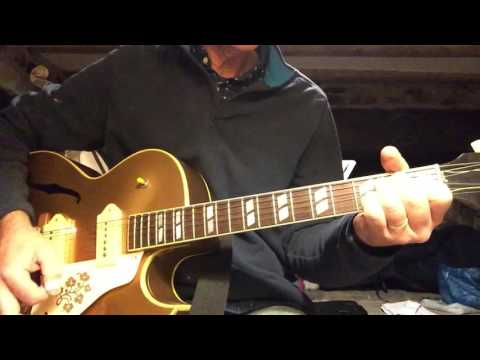 How to play Red Cadillac and a Black Moustache Guitar Chords and Guitar Solo