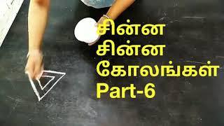 Freehand rangoli for Dasara.VEDHA'S corner