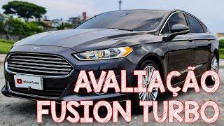 Avaliação Ford Fusion 2016 Titanium - MUITO LUXO COM PREÇO DE VIRTUS!