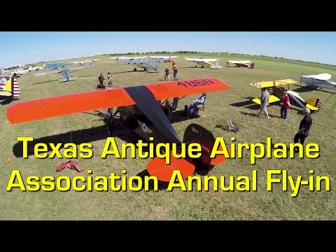 Texas Antique Airplane Association's 54th Annual Fly-in