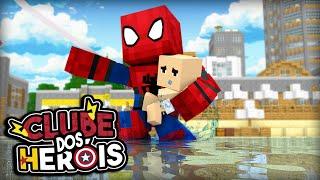 Minecraft : ( CLUBE DOS HERÓIS #10 ) BEBÊ SE AFOGANDO ! thumbnail