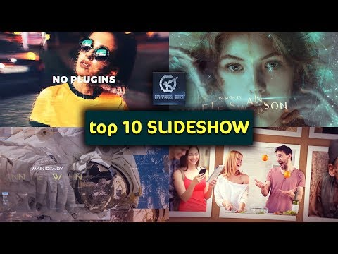 top 10 Template After Effects SLIDESHOW 🎇