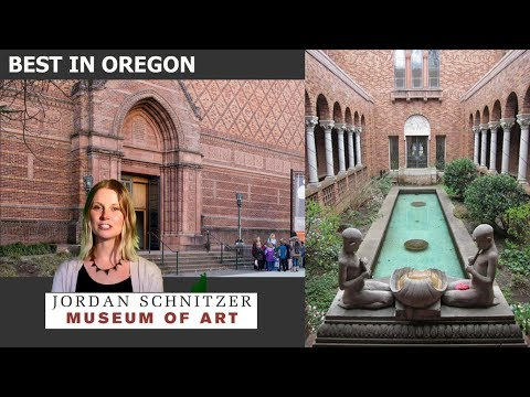 BEST IN OREGON: JORDAN SCHNITZER MUSEUM OF ART, Voted by 2018 American Art Awards