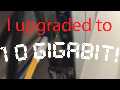 10Gb Fiber Upgrade! ($50 Budget!)