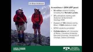 Glaciers and Ice Sheets in a Changing Climate – Professor Andrew Mackintosh