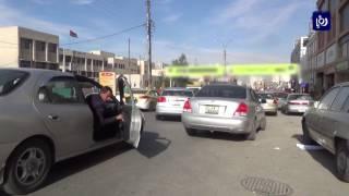 الأزمات المرورية والمخالفات في شارع 36 الزرقاء