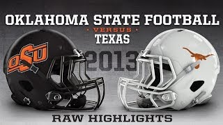 Oklahoma State Football 2013: Texas Highlights