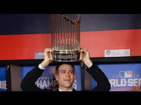 How Cubs president Theo Epstein ended two World Series curses
