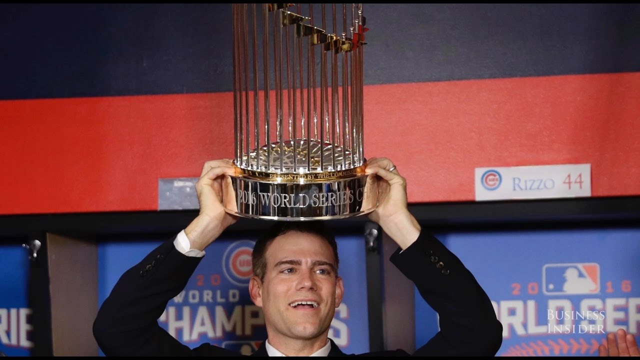 How Cubs president Theo Epstein ended two World Series curses - YouTube