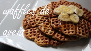 62. Waffles de Aveia