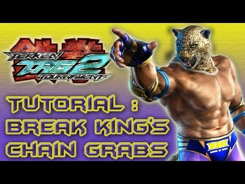 Tekken Tag Tournament 2: How to Break King's Chain Grab Combos (Step-by-Step Tutorial)