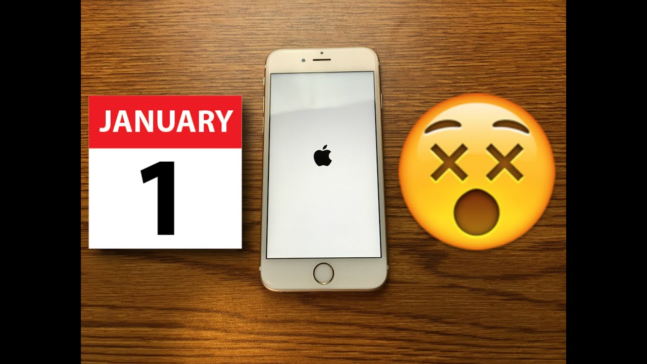 Why is the date of January 1, 1970 dangerous for iPhone users